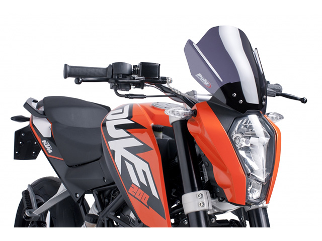 Puig: DUKE ウィンドスクリーン 125 Naked New Generation Generation KTM 125 DUKE ダークスモーク, オーエム産業:7d794134 --- officewill.xsrv.jp