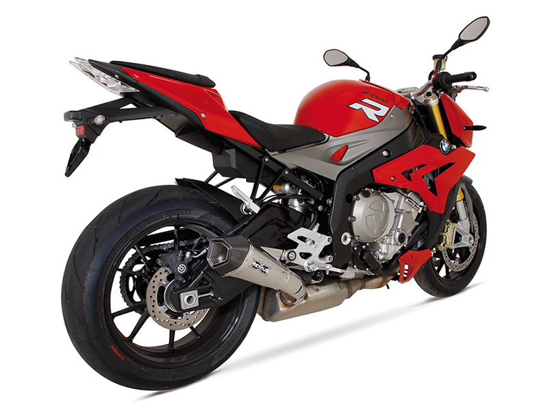 REMUS: BMW S1000RR('09-) / S1000R (14'-) HYPERCONE e-Approved スリップオン ヒートガード付 チタン