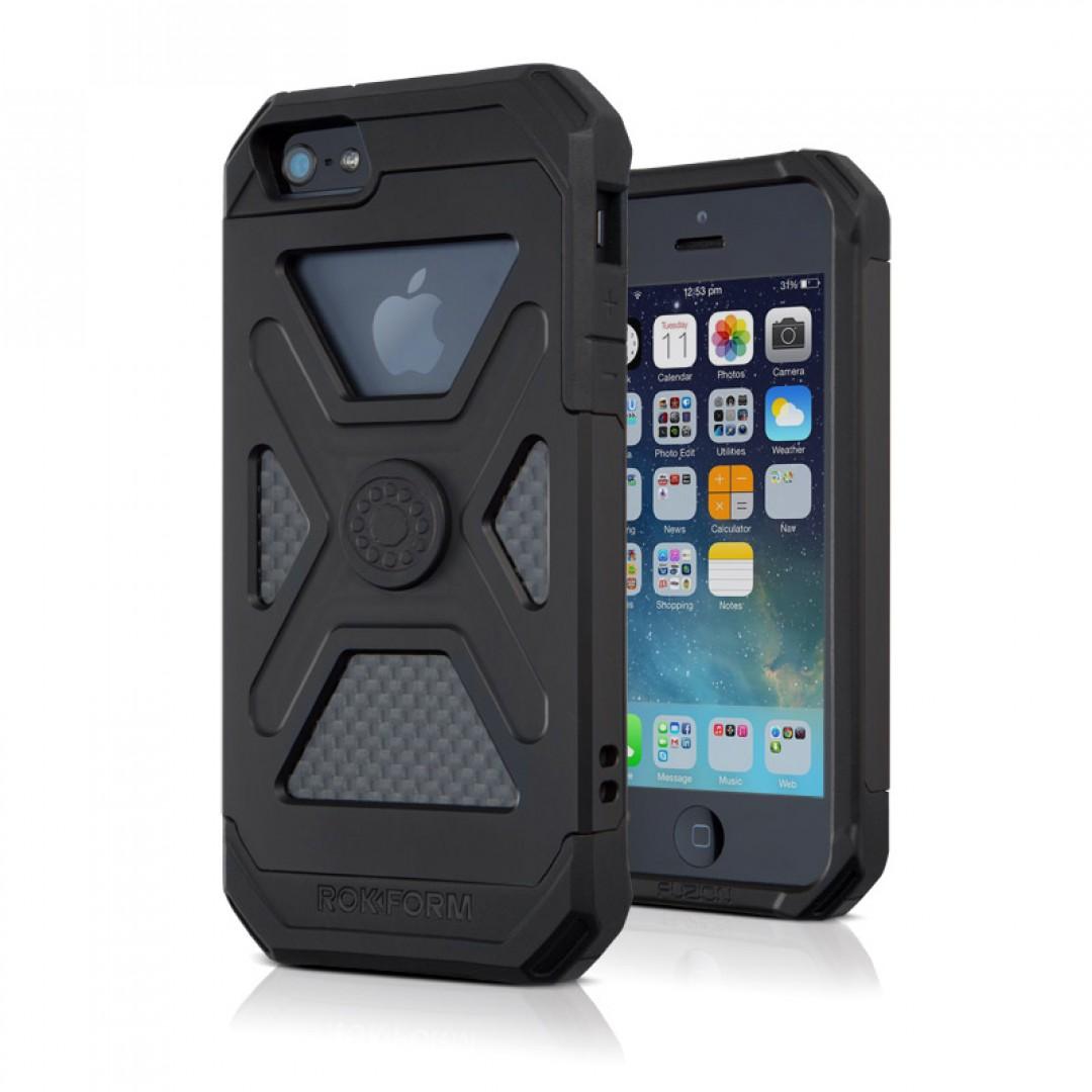 ROKFORM(ロックフォーム): iPhone 5/5s FUZION5 アルミニウムケース マットブラック