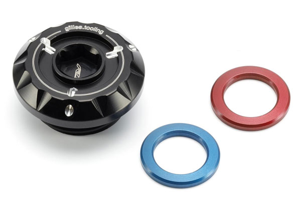 EU YAMAHA純正: YZF-R1(2015-)/R1M(2015-) Billet Engine Oil Filler Cap | 2CR-FEGFC-00-00
