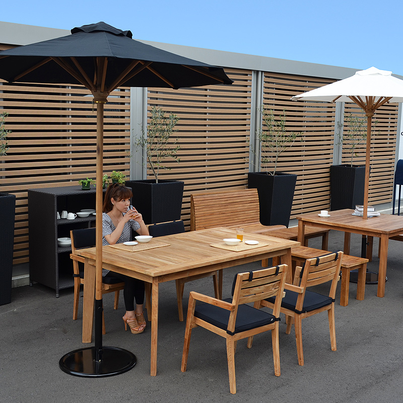Beautiful 3 / 2 Use ☆ Outdoor Furniture, Garden Furniture Teak Dining