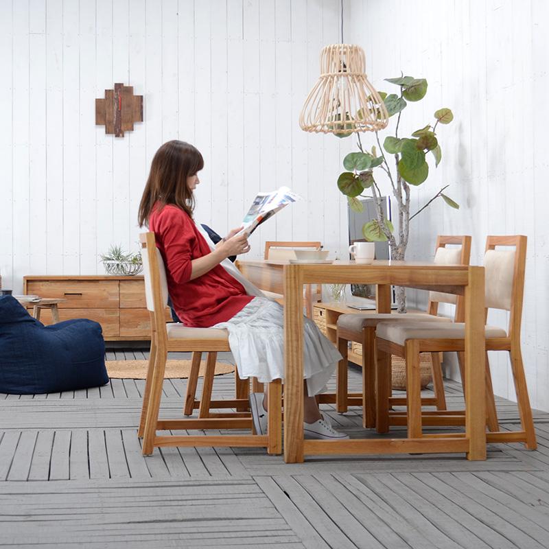 ★送料無料 ミンディ【エルジャ】ダイニングチェア チェア 椅子 ダイニング 食卓 北欧 シンプル おしゃれ インテリア 木製 無垢 ミンディ