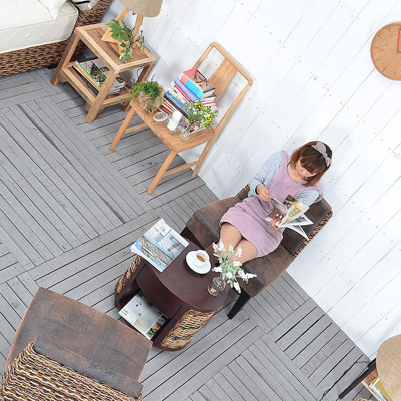 ★送料無料 【デイリー】サイドテーブル アジアン家具 リゾート テーブル 机 バリ バリ家具 コーヒーテーブル