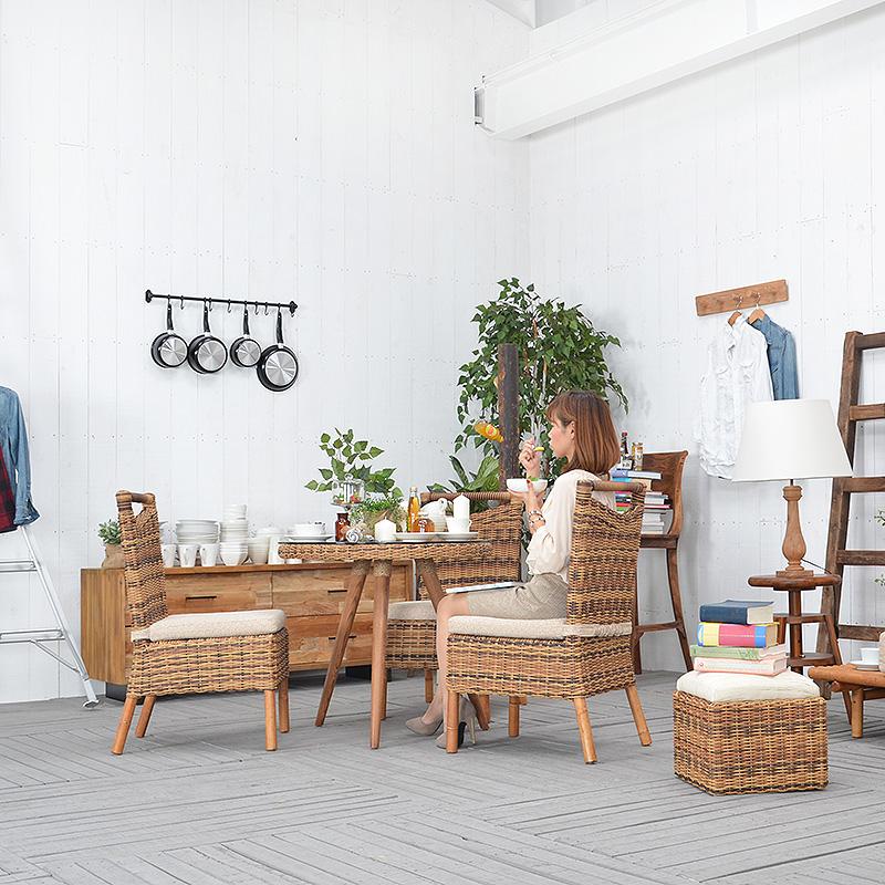 送料無料 直輸入 北欧家具 木製家具 アジアン家具 雑貨 北欧 モダン 受注生産品 商品 椅子 ソファ ジルコン リビング バリ ダイニング 南国 ナチュラル 完成品 ダイニングチェア