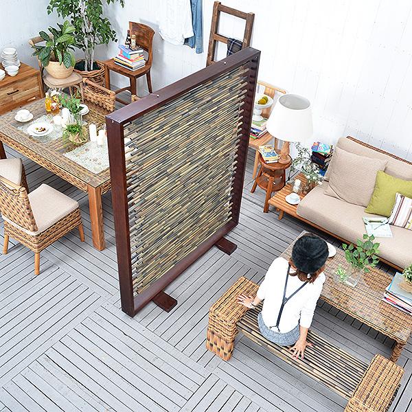 送料無料 【サルビニア】スクリーンパネル アジアン家具 衝立 つい立て パーティション アジアン リゾート バリ家具 おしゃれ