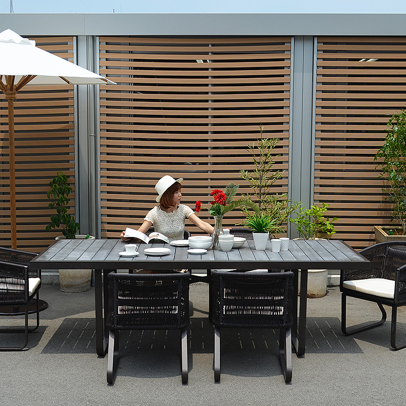 Dining Table # 01 Outdoor Furniture Asian Table Garden Terrace Modern  Dining Table Cafu0026eacute