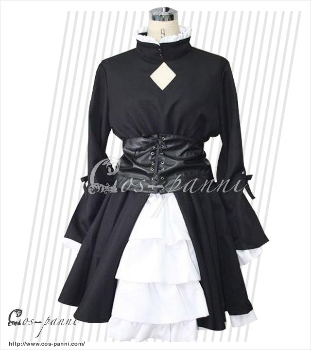 セイバー黒ドレス Fate/stay night フェイト  コスプレ衣装 コスプレシャス