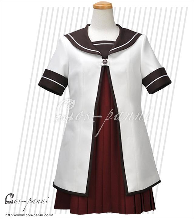 赤座 あかり 七森中学校制服(夏服) ゆるゆり  コスプレ衣装 コスプレシャス