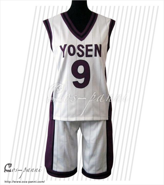 紫原 敦 陽泉高校ユニフォーム 黒子のバスケ コスプレ衣装 コスプレシャス