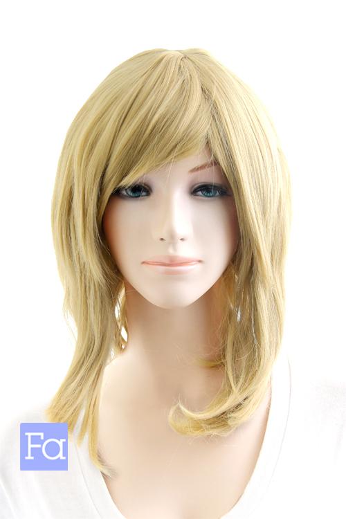 サイドロング カナリアゴールド 40色以上 セールSALE%OFF ウィッグ 金 髪 コスプレ 耐熱 mlo-86 WEB限定 かつら ロング サイド ウィッグネット付