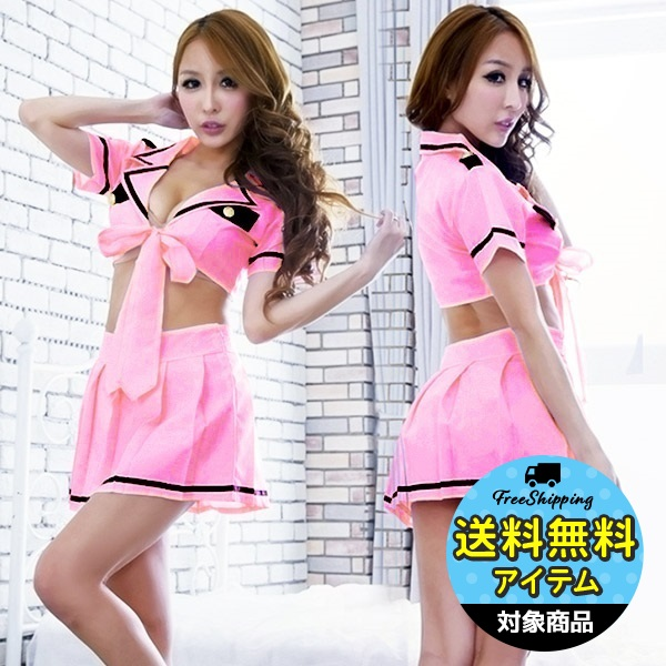 Halloween Women Police Cosplay Dress Costume Cop Uniform Sexy Schoolgirl Outfit Top Watermelons Women