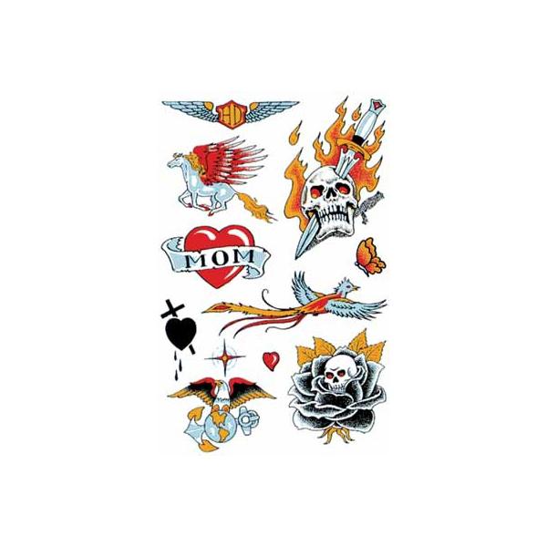 タトゥーシール 文字 トライバル 蝶 龍 ハート 薔薇 ハロウィン フェイクタトゥー 月 黒薔薇ドクロ b05179 USA2 刺青 メール便可 高品質 スーパーSALE 賜物 タトゥー 入れ墨