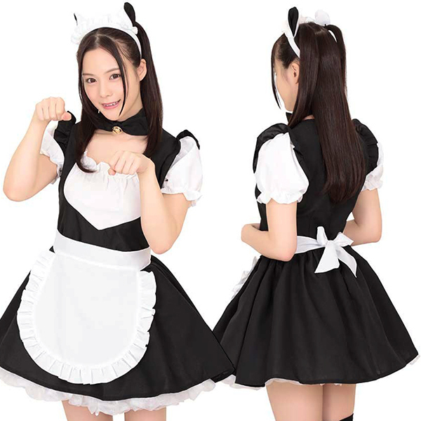 The Beautiful Maid Black Kh0013bk Cosplay Costume Costumes Kos Y