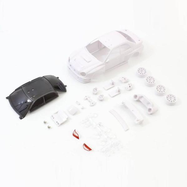 KYOSHO 京商ミニカー おもちゃ 5%OFF コレクション プレゼント 贈り物 mk2200 ホワイトボディセット未塗装ホイル付 正規品送料無料 MZN200 Impreza 京商 2002 WRC