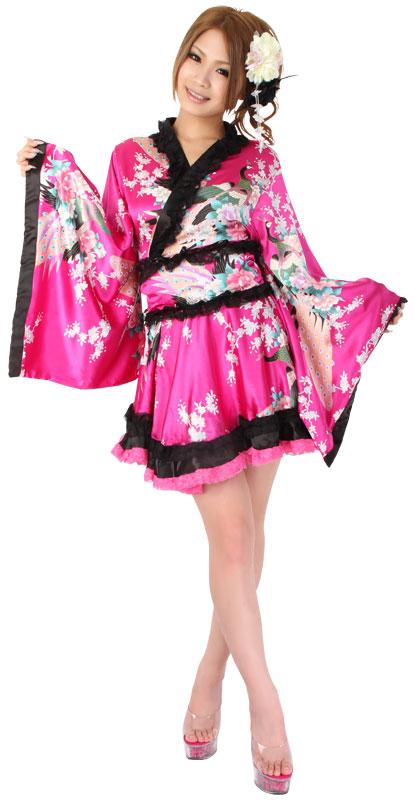 코스 프레 섹시 기모노 유카 타 기모노 드레스 그린 일본 옷 미니 롱 길이의 오프 숄더 화 원피스 キャバドレス 물 할로윈 코스 프레 염가 통 판 의상 기모노 드레스 이벤트 코스 프레 기모노 드레스 물