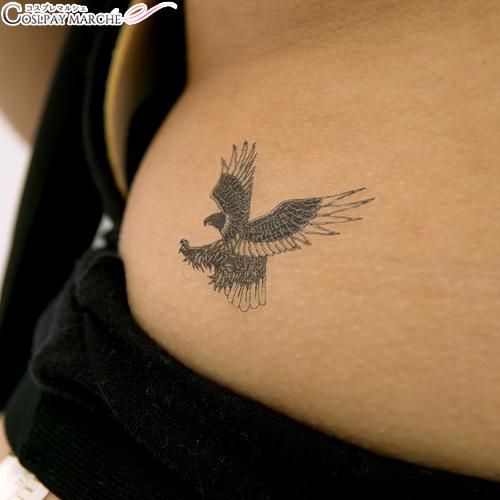 Cosmarche Tattoo Seal Tattoo Seal Black Eagle Body Seal Face Seal