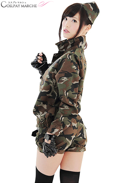 e9e2cf5b5e U0026gt; Ladies Sexy Camouflage Halloween Army Uniform Costume Outfit  Cosplay Police Ladies Military Lady COP Police Army Halloween .