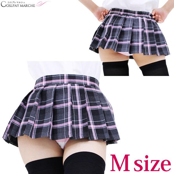 78fc8d272c <☆ coupon usable immediately> uniform skirt super mini-check skirt  checked pattern ...