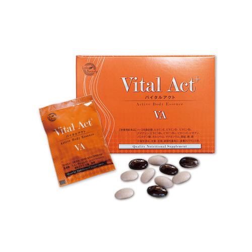 ★【Lala Beauty】バイタルアクト 30包高品質美容サプリメント 美容 健康エイジング ビタミン ミネラル
