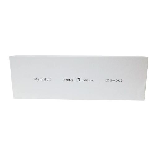 【UKA】【ウカ】 uka nail oil limited edition 2010-2019  (ウカネイルオイル) 5mL×10本ネイルオイル ボディケア 爪 マッサージ