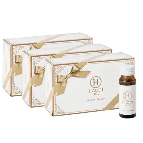 【HACCI ハッチ】ハニーコラーゲン30本セット 30ml×30本美容健康 ロイヤルゼリー コラーゲン ビューティーエナジードリンク