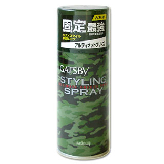 Mandom Gatsby hair styling spray ultimate flies type 125 g GATSBY