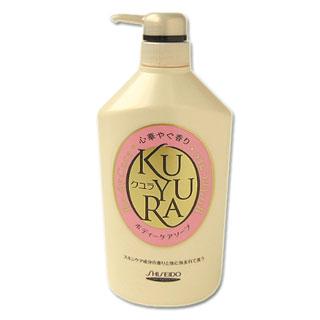 에 프 티 クユラ 시세이도 바디 케어 비누 마음 화려해 지는 향기 KUYURA SHISEIDO Body Care 550ml *
