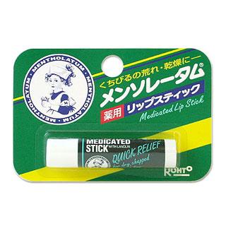 3 セール 登場から人気沸騰 好評 980円以上のご購入で送料無料 沖縄は9 800円以上 : 薬用 リップスティックR ロート製薬 Lip メンソレータム Stick MENTHOLATUM ROHTO