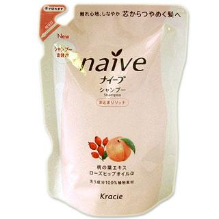 naive Moisture Rich Shampoo  Refill  400 ml Kracie naive *