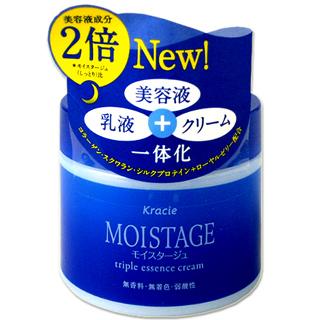 쿠라시에모이스타쥬트리프르엣센스크리무 a〈밤용 보습 크림〉100 g Kracie MOISTAGE *