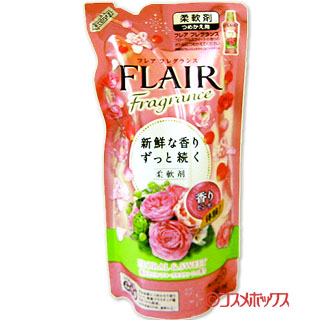 Buy Kao flare fragrance softening agent floral & sweet nail; 480 ml of 用 FLAIR Fragrance FLORAL & SWEET KAO *