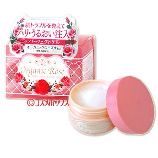 明色 调肤凝露(凝胶状霜) 有机玫瑰萃取配剂  90g Organic Rose SKIN CONDITIONING GEL MEISHOKU *