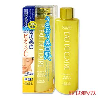 ●@ KOSE COSMEPORT CLEAR TURN EAU DE CLAIRE美容液 维生素C 医药部外用品 200ml CLEAR TURN KOSE COSMEPORT *