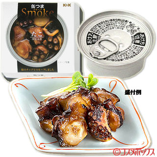 Kokubu K & K canned and smoked octopus  solid content  30 g (total content  50 g)