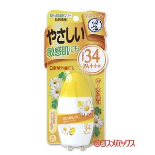 @@로트맶뽶멘소레이탐산프레이베비미르크/SPF34 PA++++ 30 g(26 ml) MENTHOLATUM SUNPLAY ROHTO *