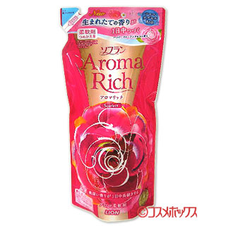 Lion fabric softener aroma rich Scarlet happy frutiaroma fragrance refill for 450 ml Aroma Rich LION *