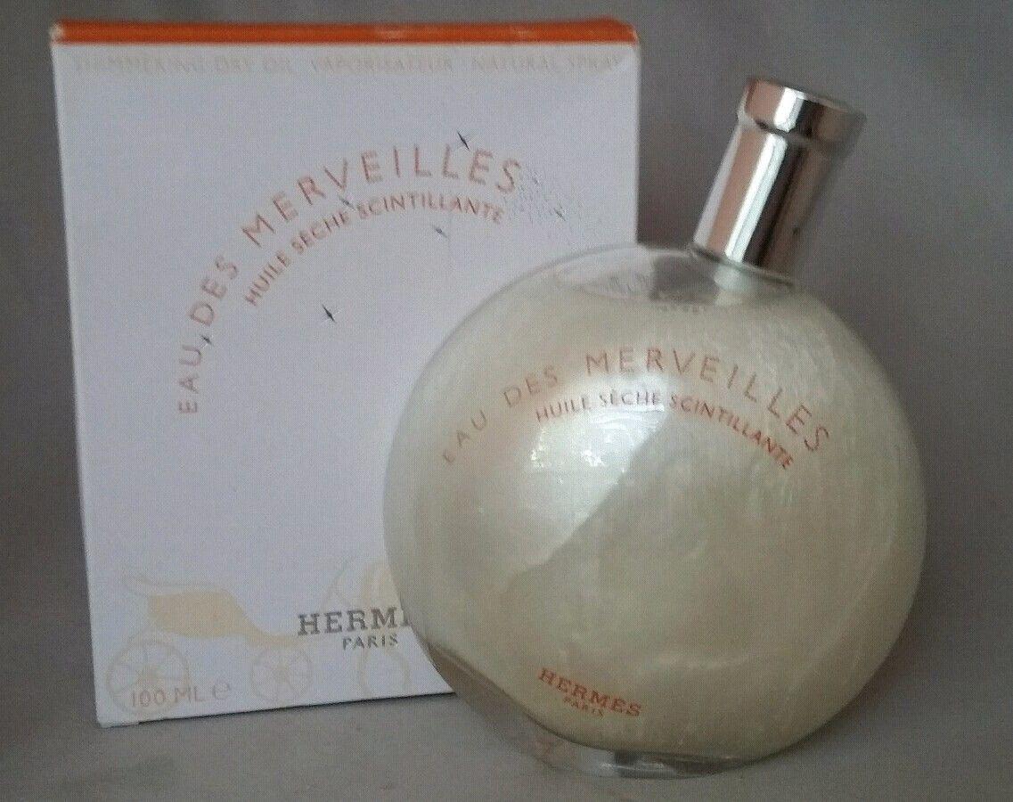 HERMES エルメスEau Des Merveilles Huile Seche Scintillante 100ml【外箱不良】