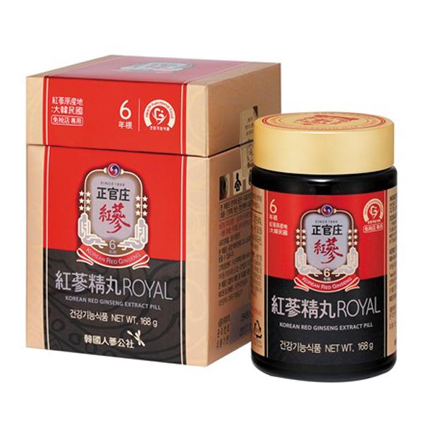 正官庄 紅参精丸ロイヤル 168g 3個セット (日本語説明書付)