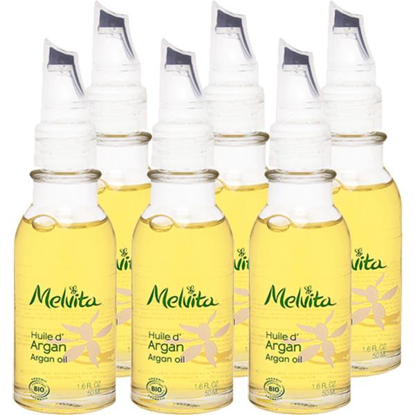 さまざまな肌トラブルをすこやかに整えるアルガンオイル モロッコに生息するアルガンツリーのオイルは必須脂肪酸とステロールが豊富に含まれ 古くから親しまれてきました メルヴィータ ビオオイル アルガンオイル 訳あり商品 50ml 6個セット 上等 サンキュー ベーシックケア Melvita 39ショップ フェイスオイル バーム