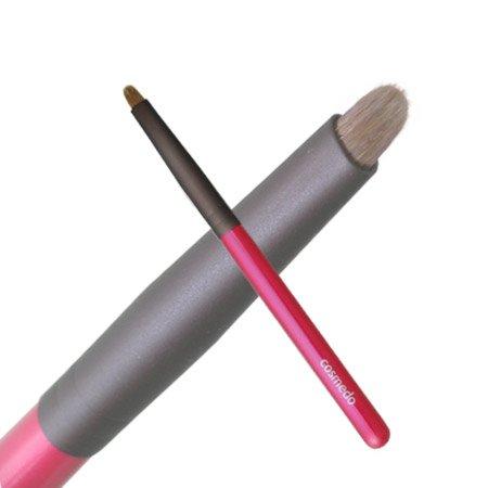 ついに入荷 匠の化粧筆コスメ堂 超美品再入荷品質至上 ショートタイプPシリーズ■瞼のキワの締め色に 1本あると便利に使えます 筆職人が1本1本手作りしました 日本製 熊野筆メイクブラシ 熊野筆 シャドウライナーブラシ アイシャドウブラシ シャドーライナー ウィーゼル100% 細い筆 アイライン 熊野化粧筆 熊の筆 目の縁 細い まつ毛の隙間 目の際 . ぼかす