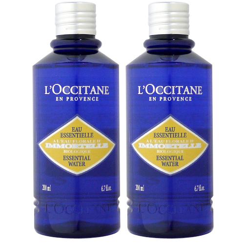 【セット】 ロクシタン L'OCCITANE イモーテル エッセンシャル フェース ウォーター 200mL 2本セット 収れん化粧水