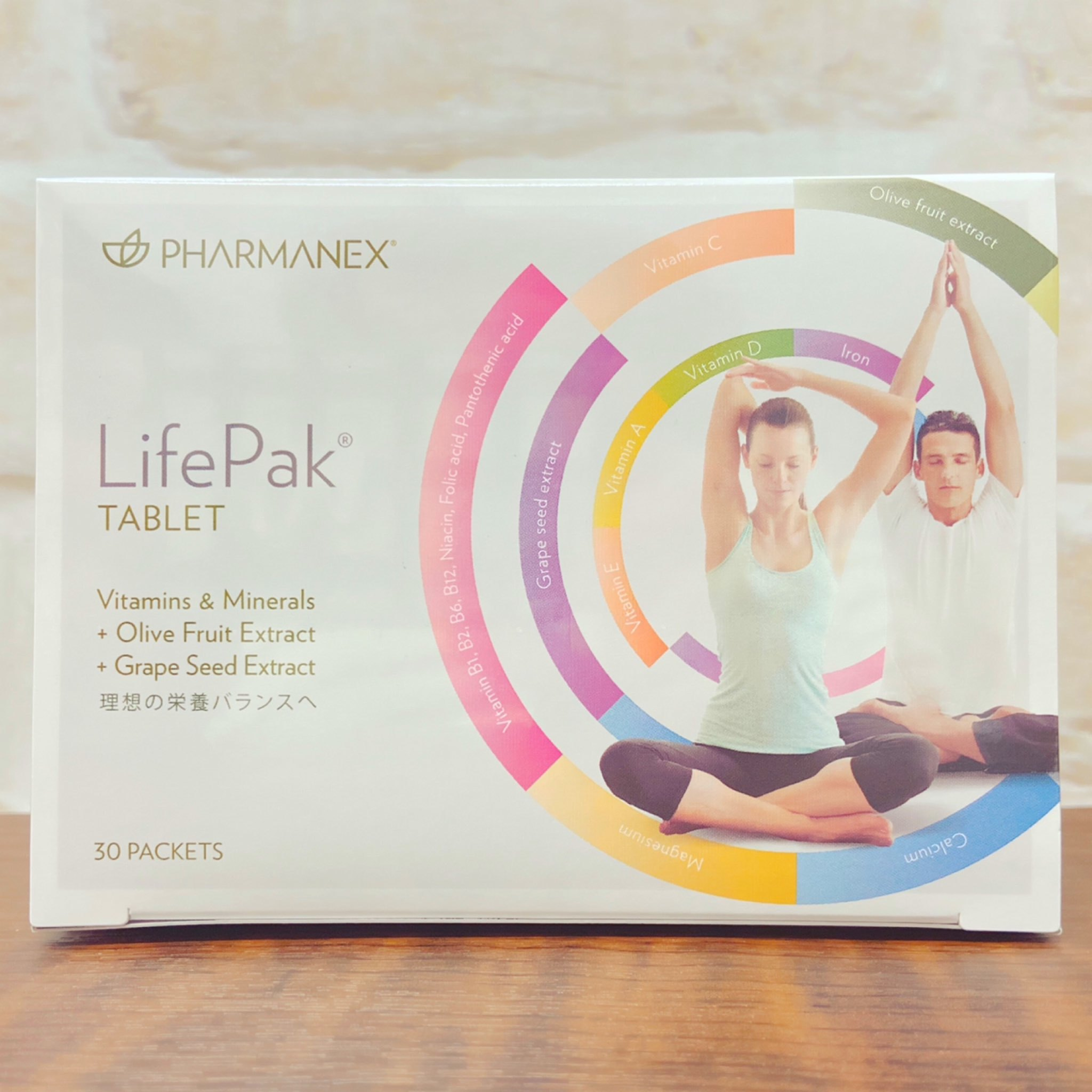 3 980円 税込み 以上で送料無料 正規品送料無料 ※北海道 沖縄 離島 一部の地域は除く Nu Skin ニュースキン 1着でも送料無料 LifePak 賞味期限2022年7月以降 ビタミン等含有加工食品 栄養補助食品 ライフパック PHARMANEX 58.2g Tablet 1.94g×30パック タブレット