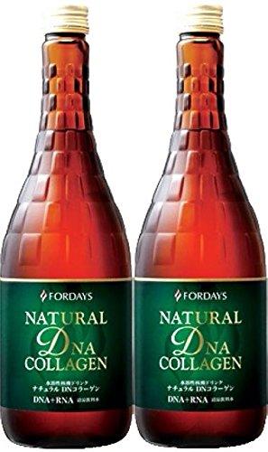 【お得な2本セット】フォーデイズ 核酸ドリンク ナチュラル DNコラーゲン 720mL 【第VIII世代】【甘さひかえめNEW】