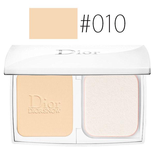 クリスチャンディオール 【#010】スノー ルミナス パーフェクト ファンデーション #アイボリー SPF20/PA+++ 9g 【パウダー メイクアップ 透明感】【Christian Dior】【W_91】【再入荷】