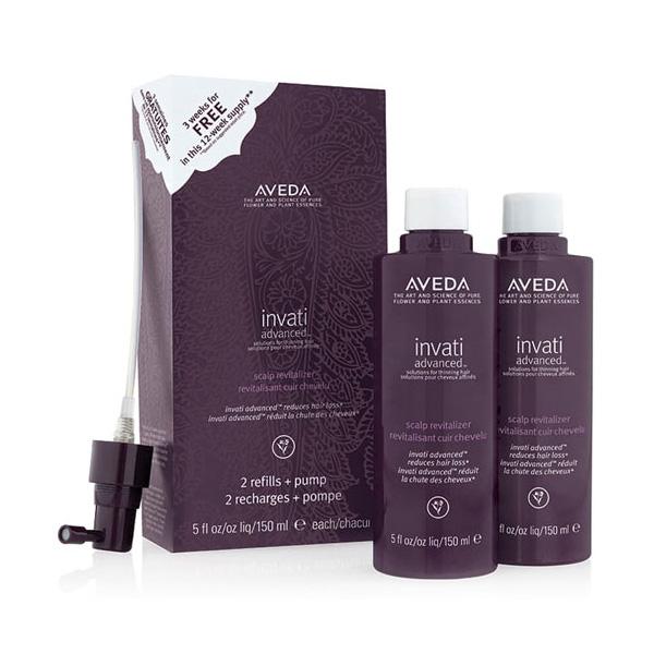 ヘアケア 頭皮 植物成分 髪と頭皮を健やかに導くヘア用美容液 アヴェダ 半額 インヴァティ アドバンス 150ml×2 格安激安 エッセンス W_370 AVEDA ポンプ付 レフィル ヘアスカルプ