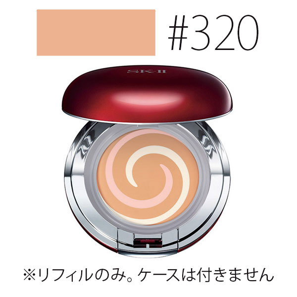 SK-II 【#320】COLOR クリアビューティ エナメルラディアント クリーム コンパクト(リフィル) #クリア オークル SPF30/PA+++ 10.5g 【SK2_エスケーツー】【W_31】【再入荷】