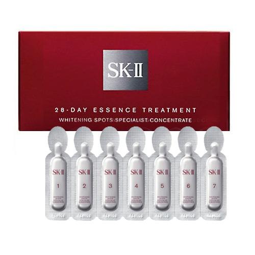 SK2 ホワイトニングスポッツスペシャリストコンセントレート 0.5g×28個 2017年9月製造品