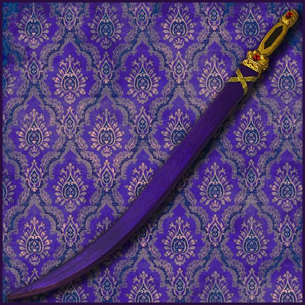 【コスプレ用小道具】マギ風 シンドバッド 金属器 バアルの剣(抜刀不可)