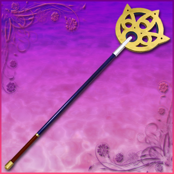 【コスプレ用小道具】ファイナルファンタジー10風 ユウナの杖