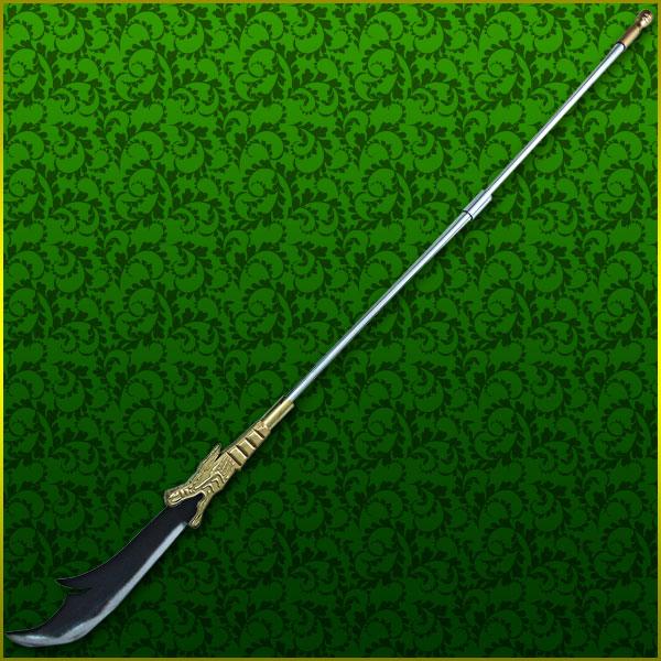 【コスプレ用小道具】一騎当千風 関羽雲長の青龍偃月刀